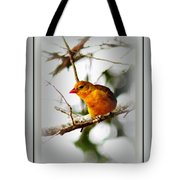 Tanager 4296-ttp Tote Bag