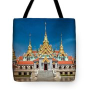 Tang Sai Temple Tote Bag