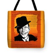 Tangerine Swing Tote Bag