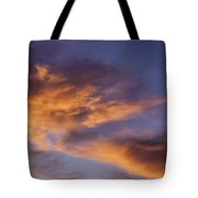 Tangerine Swirl Tote Bag by Caitlyn  Grasso