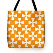 Tangerine Twirl Tote Bag