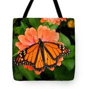 Tangerine Twosome Tote Bag