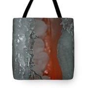 Tangerine Vein Tote Bag