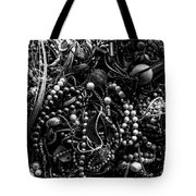 Tangled Baubles - Bw Tote Bag