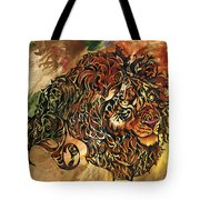 Tangled Lion Tote Bag