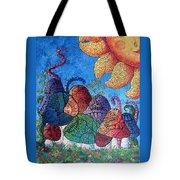 Tangled Mushrooms Tote Bag