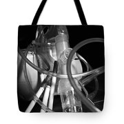 Tangled Up In Tubes Tote Bag