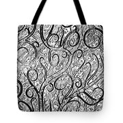 Tangled Up In Vines Tote Bag