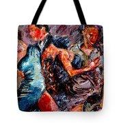 Tango Club # 3 Tote Bag