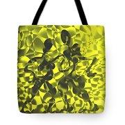 Tango In Yellow Tote Bag