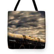 Tank Cars Tote Bag by Bob Orsillo