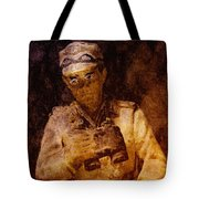 Tank Commander Tote Bag