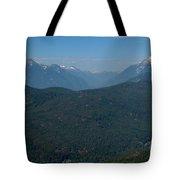 Tantalus Mountain Snow Caps Tote Bag