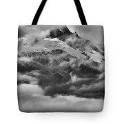Tantalus Mountain Storms Tote Bag