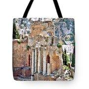 Taormina Amphitheater Tote Bag