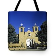Taos Adobe Church Tote Bag