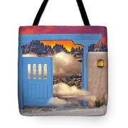 Taos B And B Tote Bag
