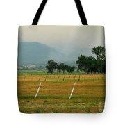 Taos Fields Tote Bag by Steven Ralser