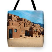 Taos Pueblo 4 Tote Bag