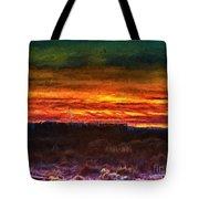 Taos Sunset Lx - Homage Turner Tote Bag