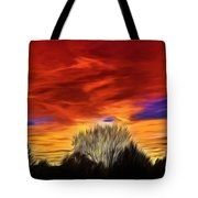 Taos Sunset Lx - Okeeffe Tote Bag