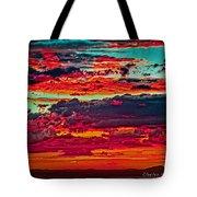 Taos Sunset Xix Tote Bag