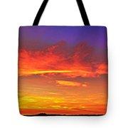 Taos Sunset Xxxx Tote Bag