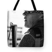 Tap And Stare Tote Bag