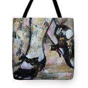 Tap Away Tote Bag