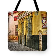 Tapas Bar In Sevilla Spain Tote Bag