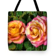 Tapestry - Roses And Thorns Tote Bag