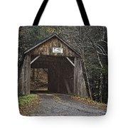 Tappan Covered Bridge Tote Bag