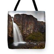 Taranaki Falls In Tongariro Np New Zealand Tote Bag