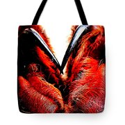 Tarantula Fangs Tote Bag