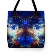 Tarantula Nebula Reflection Tote Bag by Jennifer Rondinelli Reilly - Fine Art Photography