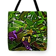 Tarbush In Santa Elena Canyon In Big Bend National Park-texas  Tote Bag