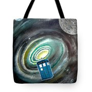 Tardis Tote Bag by John Lyes