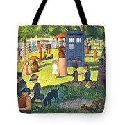 Tardis V Georges Seurat Tote Bag