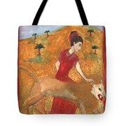 Tarot 11 Strength Tote Bag