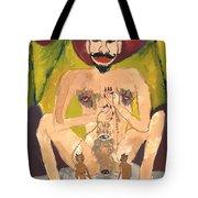 Tarot 15 The Devil Tote Bag