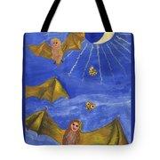 Tarot 18 The Moon Tote Bag