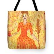 Tarot 3 The Empress Tote Bag
