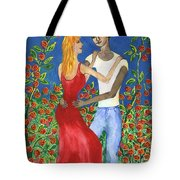 Tarot 6 The Lovers Tote Bag