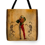Tarot Card The Fool Tote Bag