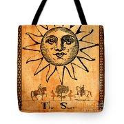 Tarot Card The Sun Tote Bag by Cinema Photography