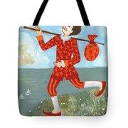 Tarot The Fool Tote Bag