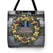 Tarpley Thompson Store Wreath Tote Bag