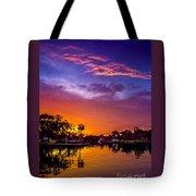 Tarpon Springs Glow Tote Bag