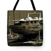 Tarpon Springs Sponge Boat Tote Bag