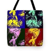 Tarzan Goes Pop Tote Bag